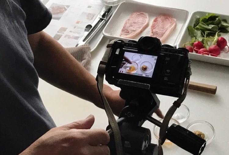 スマホで料理写真の撮り方&インスタグラム画像処理講座