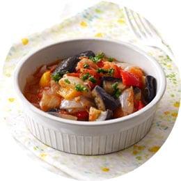 フライパンで簡単!野菜たっぷりラタトゥイユ