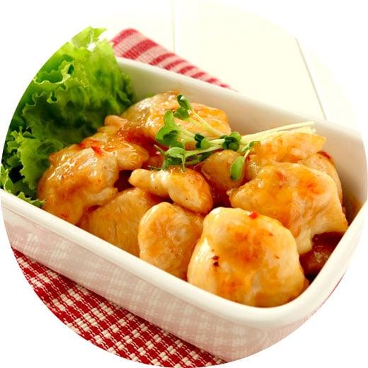 下味冷凍で楽チン!鶏むね肉のスイチリ炒め