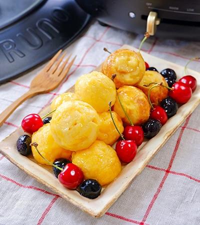 家族で楽しむ♪『Wトマトチーズのミートボール煮込み』