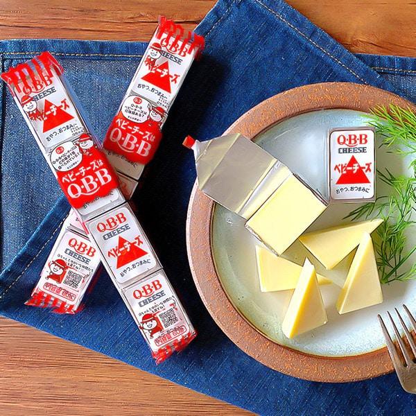ロングセラー!定番のベビーチーズ(プレーン)