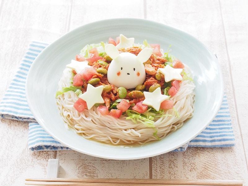 ツナのタコライス風和え麺