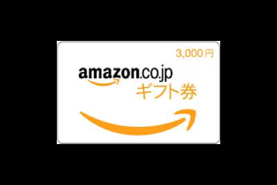 B賞:Amazonギフト券 / 3名様