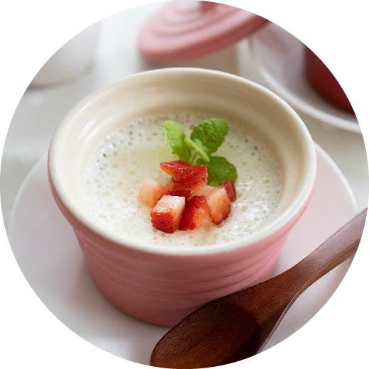 マシュマロで簡単!ホワイトチョコムース