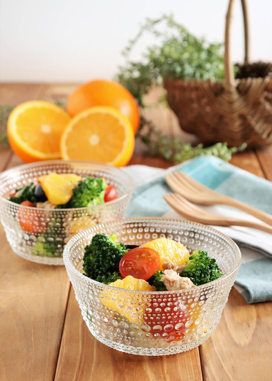 野菜とツナのオレンジマリネ