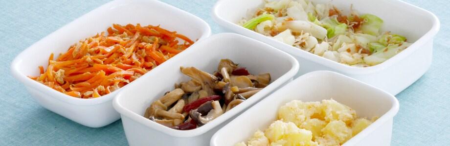 お弁当のあと一品。野菜ひとつでできる「作り置き」