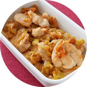 【鶏むね肉】パサパサしない!ジューシーしょうが焼き
