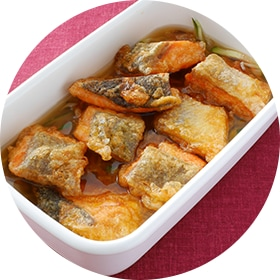 【鮭の切り身】野菜もたくさん食べられるヘルシー南蛮漬け