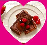濃厚ホットチョコソースにうっとり?「ショコラフレンチトースト」