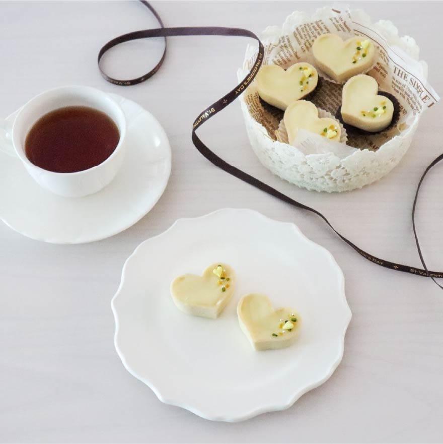 レモンの風味がアクセント レモン生チョコタルト