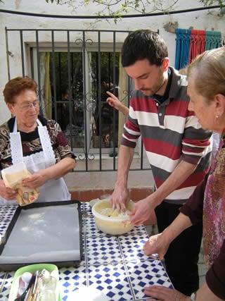 おばあちゃんの料理レッスン