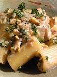雑穀と胡桃のクリーミーパスタ
