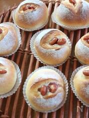 簡単*シンプル豆パン