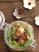 牡蠣とにんにくのオイル漬け