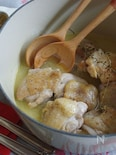 チキンのレモン煮込み