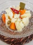 根菜の和風塩麹ピクルス