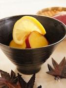 さつま芋のレモン煮
