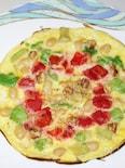 豆乳・トマト・アボカドアンチエイジング卵パンケーキ