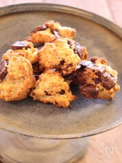 チョコとおからのドロップクッキー