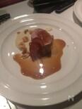 豚フィレロティー ジャガイモのピューレ ソースアールグレー