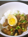 我が家の魯肉飯(ルーローファン)