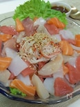 韓国風ビビンちらし寿司❤