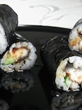 うなきゅうロール寿司❤
