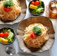 さっぱり美味しい!明太生レモン酢パスタ