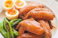 炊飯器で感激やわらか♡こっくり味『手羽先と卵のこく旨煮』