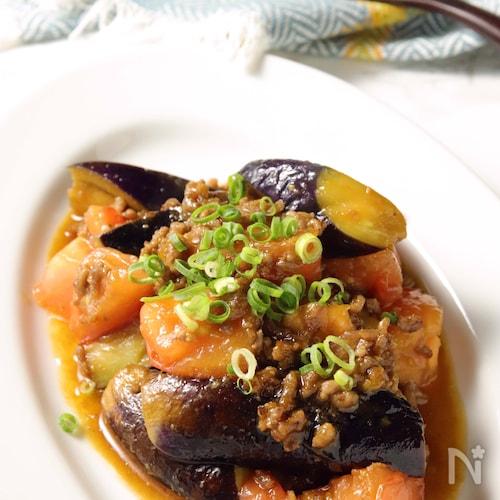 酸味と旨味で夏にぴったり♪トマトが決め手のマーボーナス