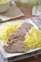 【簡単作り置き】塩ゆで豚☆圧力鍋で柔らか!万能おかず☆