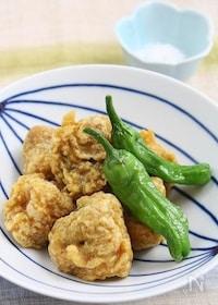『さば缶でカレー天ぷら』