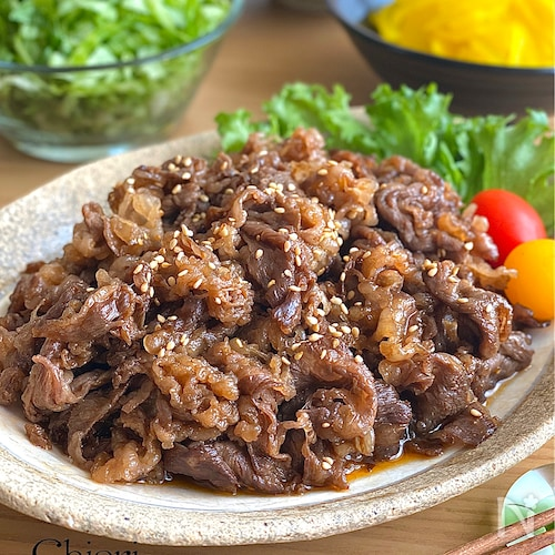 5分で本場の味☆韓国風焼肉