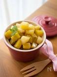 簡単おやつ。りんごとさつまいものバターメープル風味*