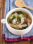 身体が芯から温まる♪『白菜とえのきの生姜とろみスープ』