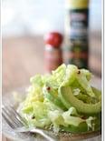 キャベツとアボカド柚子サラダ