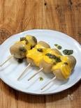 つくねではありません 市販品で作る「串チーズ里芋」