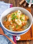 『ライスカリフラワー de 豆腐とキムチのチゲ丼』
