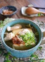 ダイエットにも最適!レンジで3分♪スープカップで湯豆腐