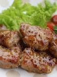 豚肉のソテー、レモンマスタードソース