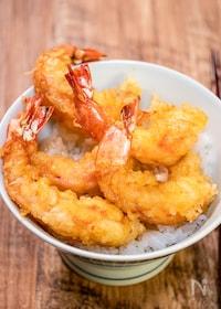 『サクッとふんわり「海老天丼」&「天丼タレの作り方」』
