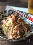 食物繊維たっぷりなセロリとごぼうのペペロンチーノ