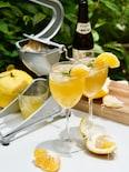 ノンアルカクテル!夏みかんで作るビター・オレンジ