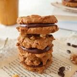 簡単!コーヒーナッツクッキーのガナッシュサンド