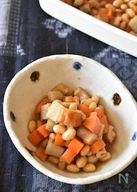 『大豆とごぼうのうま煮【冷凍・作り置き】』