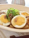 豚大根と茹で卵のオイスター炒め煮