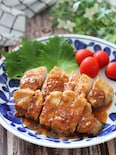 すし酢を使ってお手軽に♡豚ロースのにんにく酢醤油焼き