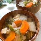 体の芯まで温まる☆寒い日に食べたい『生姜と根菜のぽかぽか汁』