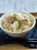 鮭と長芋の炊き込みご飯