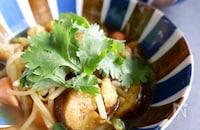 豚肉の茹で汁で簡単♪もやしのカレースープ